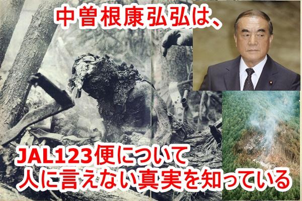 【転載】JAL123便墜落事故の真実を「墓場まで持っていく」と言った中曽根康弘こそ、JAL123便撃墜の首謀者ではないのか