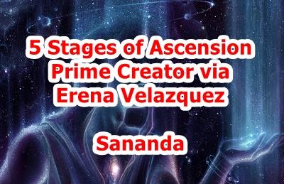 【転載】アセンションの5つの段階 Erena Velazquez