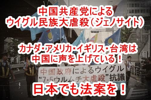 中国共産党によるウイグル人ジェノサイト(大量虐殺)!悪に魂を売った中国共産党は地球人類の敵である!日本でも中国制裁の法案化を呼び掛ける請願署名ご協力を!!